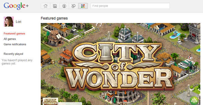 City of Wonder Google Games