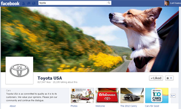 Facebook cover images - Toyota USA