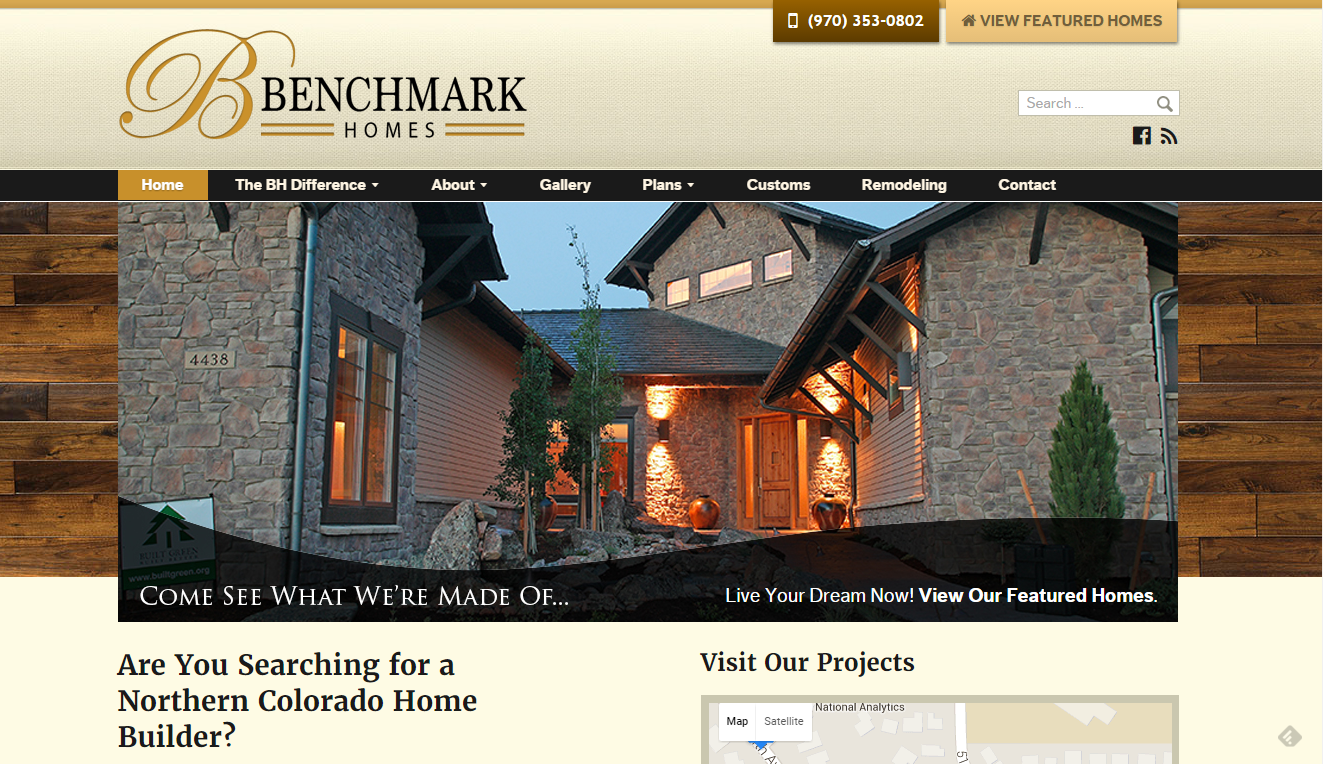 Benchmark Homes of Greeley, Colorado