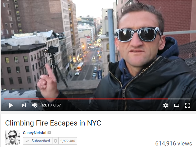 Why you should watch Casey Neistat on YouTube Right Now